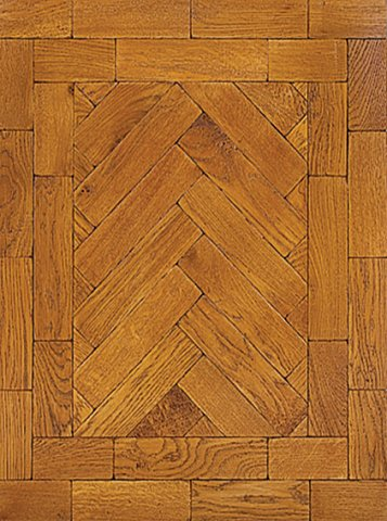 Light Oak parquet block flooring