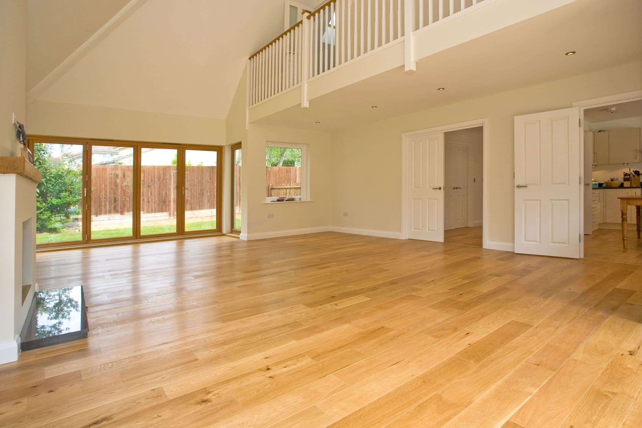 Engineered wood flooring manufactured and installed by UK Wood Floors