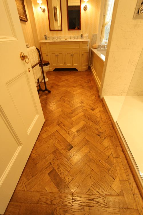 Parquet Bathroom Uk Wood Floors Amp Bespoke Joinery