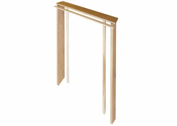 Solid oak door frame linings