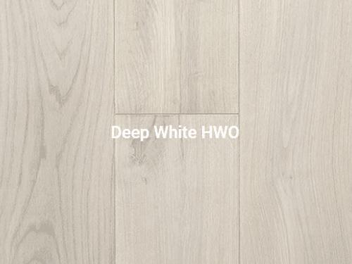 Deep White Wood Flooring