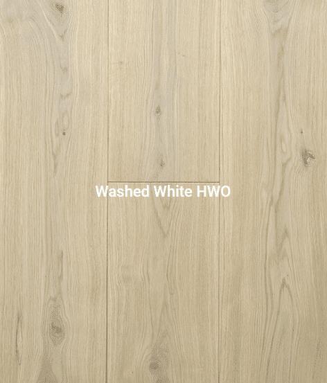 Washed White Flooring