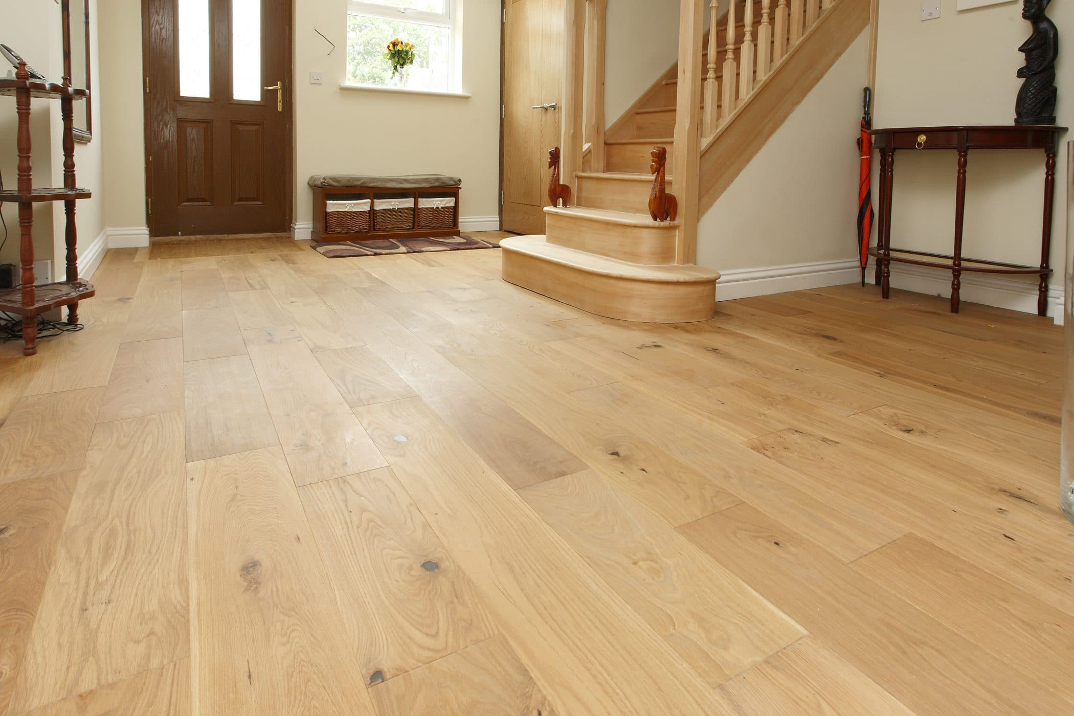 UK Wood Flooring - How to Create an Entrance!