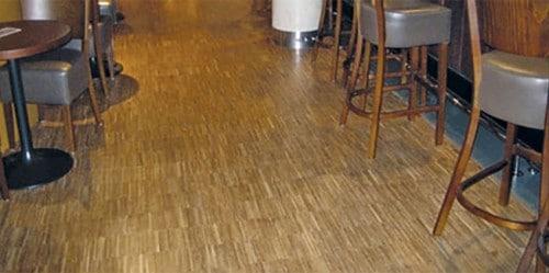 Industrial Parquet Flooring Hoxton Hotel