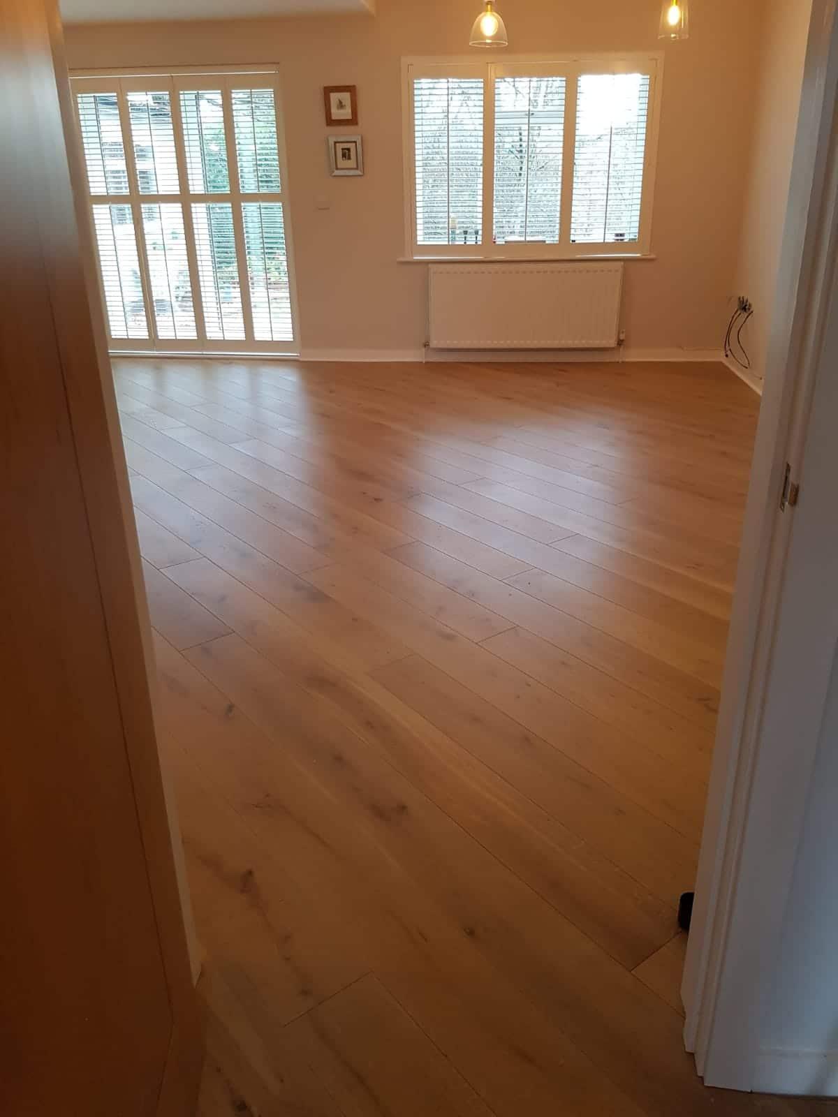 Diagonal Silver Grey Hardwax Oiled Planks Uk Wood Floors