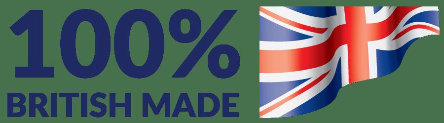 100% British Made