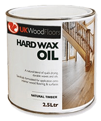 2.5ltr hard wax oil