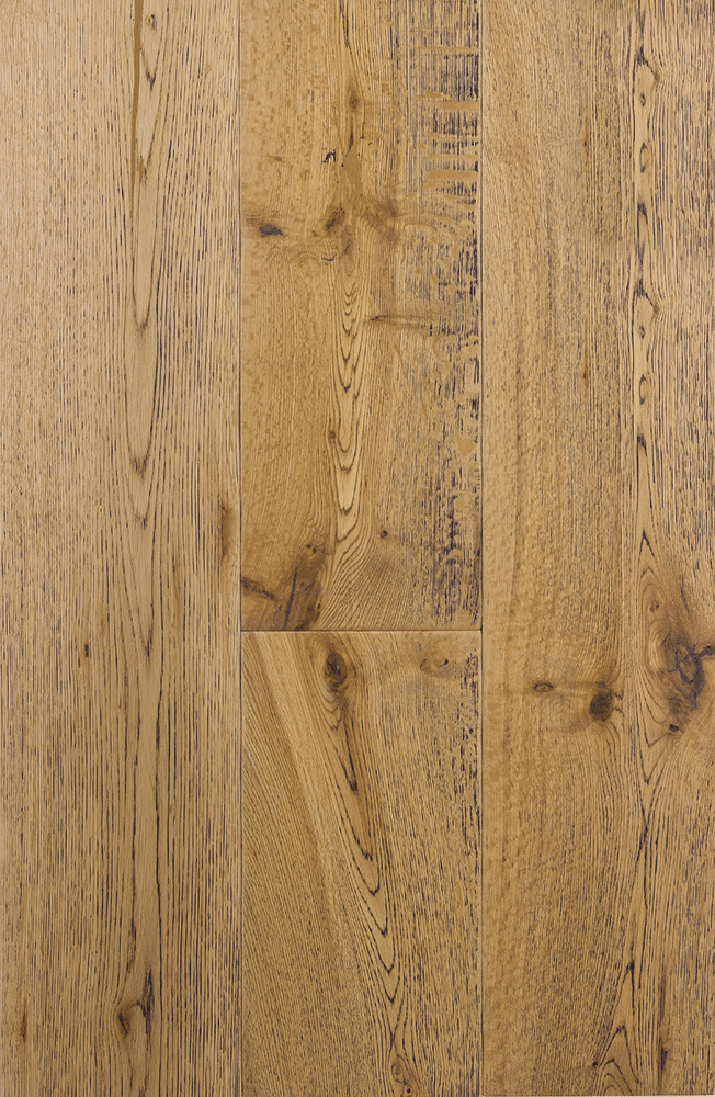 Dark Grain Clear Hard Wax Oil Engineered Antique Grade Oak Planks Flooring UK Manufactured European Oak