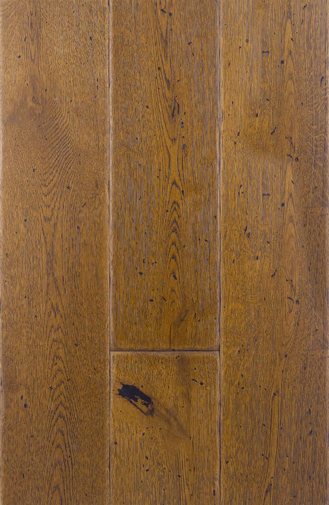Smoked Hard Wax Oil Engineered Antique Grade Oak Planks Flooring UK Manufactured European Oak