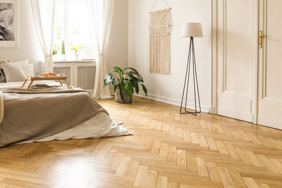 Parquet Block Wood Flooring