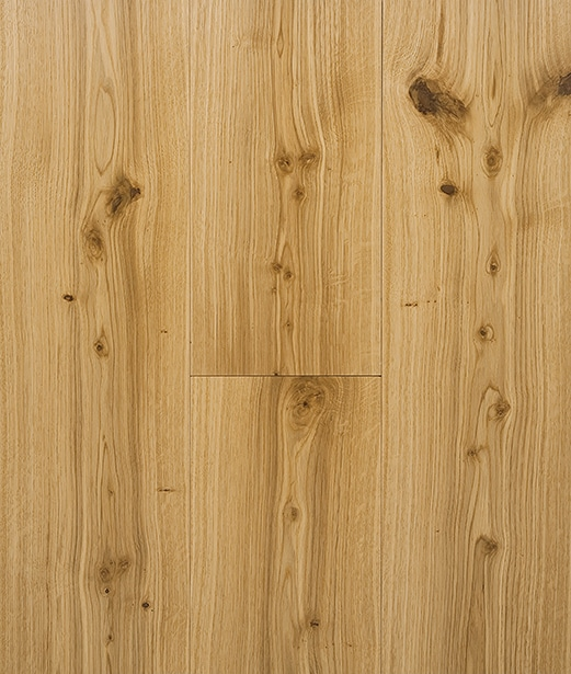 Clear Matt Hard Wax Oil Engineered Rustic Grade Oak Plank Flooring UK Manufactured European Oak