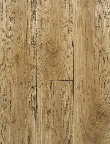 Dark Grain Clear Hard Wax Oil Engineered Rustic Grade Oak Plank Flooring UK Manufactured European Oak