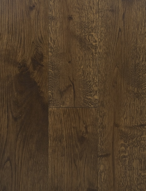 Dark Oak Stain Hard Wax Oil Engineered Rustic Grade Oak Plank Flooring UK Manufactured European Oak