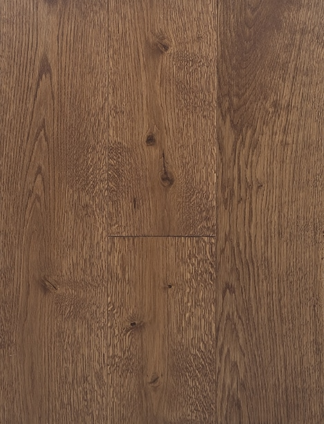 Mahogany Stain Hard Wax Oil Engineered Rustic Grade Oak Plank Flooring UK Manufactured European Oak