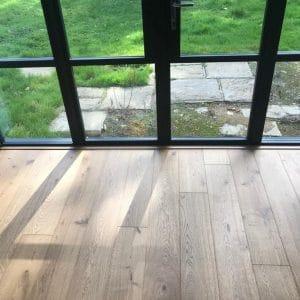 180mm engineered Oak rustic grade flooring