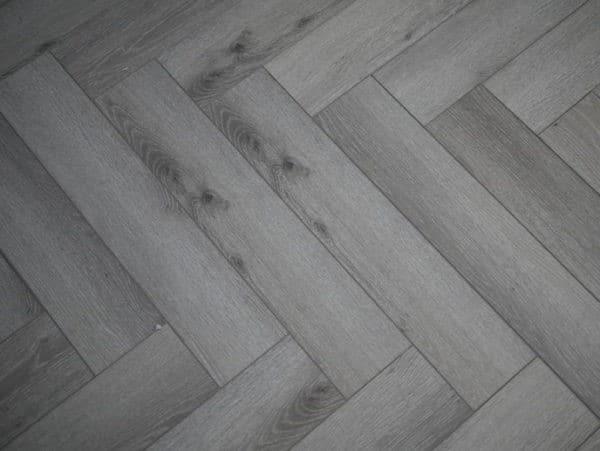 Pearl Grey Herringbone